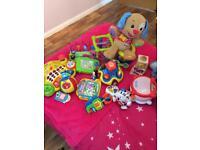 Bundle of baby / toddler toys