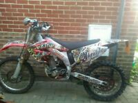 CRF 450 road registered