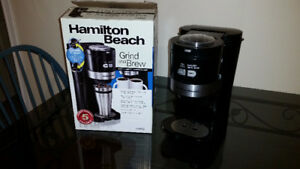 Hamilton Beach Grind and Brew Coffee Maker