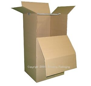 Moving Boxes 3 Large Wardrobe Boxes  $12.00 each