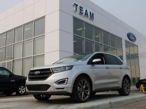 2017 Ford Edge 401A, SPORT, AWD, NAV, TECH PKG, MOONROOF SYNC3,