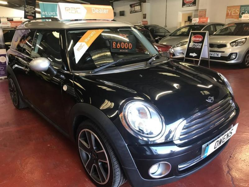 2010 (10) MINI CLUBMAN 1.6 COOPER 5DR Manual