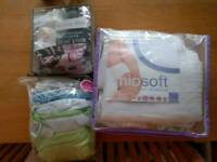 Reusable/washable nappies and liners