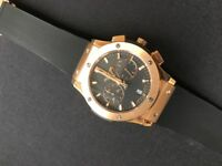 Hublot Rose Gold Classic Chronograph Fusion (2017 Model) - Brand New