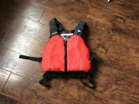 Red, XS/S North shore , buoyancy aid