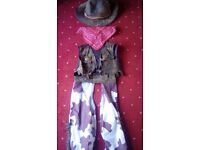 Kids cowboy outfit