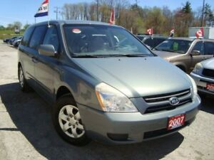 2007 Kia Sedona LX Only 163km Accident Free