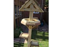 Wooden bird table with free local delivery