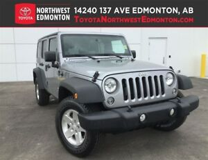 2014 Jeep Wrangler Sport | 4X4 | Full Spare | Pwr Package