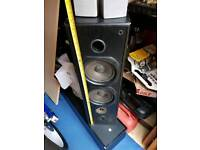 TALL SPEAKERS HIFI SURROUND SOUND TWEETERS