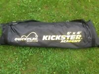 Kickstear academy 6' X 4' foldaway football goal