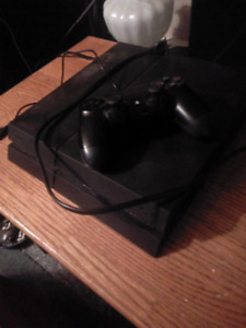 Ps4 console with 1 controller 300 obo!!!!!