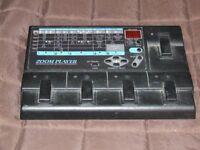 Zoom 20 20 effects processor for guitar