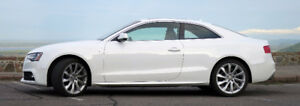 AUDI A5 2.o 6sp Manual 2014 Ibis White Quatrro/Progressiv Pkg