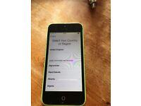 iPhone 5c 8gb EE in green