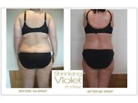 Shrinking violet inch loss wraps