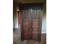 Brilliant characterful smaller Wardrobe ideal for shabby chic look