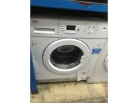 Intergrated washing machine. New/graded 12 month gtee
