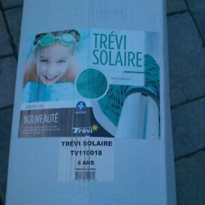 solar tarp for pool ''toile solaire'' 18'