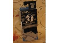 Unisex Gore Countdown Socks. Grey & White, or Black & White. 1 Pair. Size Small