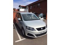 Seat Alhambra Ecomotive CR TDI SA, excellent condition, very low mileage.