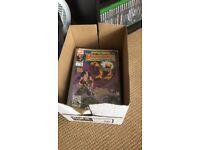 Box of mixed comics