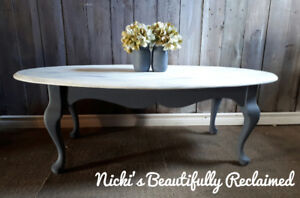 Beautifully Reclaimed oak coffee table