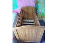 Solid wood cot for sale