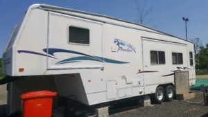 Prowler camper trade for plow truck