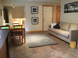 Fully Furnished 1 Bedroom basement suite in 3 Sisters Canmore