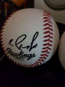 Mario Diaz Autographed Baseball For Sale
