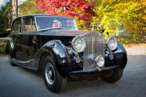 1951 Rolls Royce Silver Wraith - Mulliner 7 Passenger Limousine