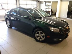 2014 Chevrolet Cruze 2LT/1 OWNER LOCAL TRADE/LEATHER/MOON