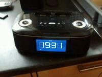 Apple ipod or iPhone digital alarm clock