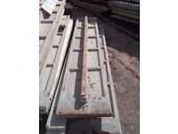 Reinforced (woolaway) concrete panels