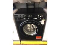 Just under 1 year old Hotpoint WMBF742K Black 7kg Washing Machine £199