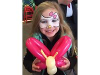 Face painting/painter, Glitter tattoos and balloon modelling - Glasgow and surrounding area