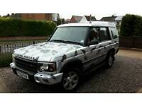 My land rover discovery 2, 11 months mot, just had a service, 120000 miles