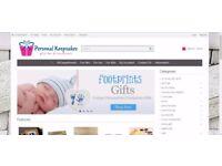 Personalised Gifts Dropship Online Website Business - Personal Keepsakes