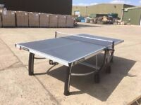 Outdoor Grey Cornilleau Table Tennis Table (Good Condition - Assembled)
