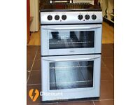55cm Belling Ceramic Cooker, Double Oven / Grill ( Fan Assisted) - 6 Months Warranty