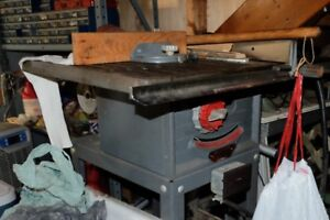 Beaver WoodWorker Table Saw