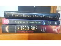 Clinical psychology/neuroscience book batch - £30