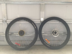Kranked 56-559 (26 x 2.30) Front & Rear Bike Tires with Rims