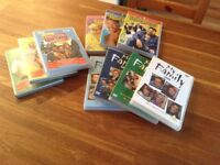 DVDs My Family, Fresh Prince of Bel-Air, Only Fools and Horses
