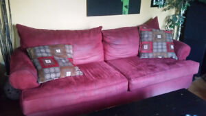Need gone 3 pc couch set