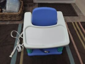 My First Years booster seat.