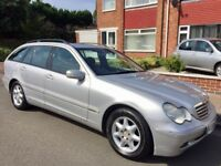 Mercedes-Benz C Class 2.1 C220 CDI Elegance SE 5dr £799 2004 (53 reg), Estate