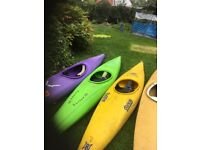 4 Kayaks for Sale - Sold Separately or as a package. £50 each ONO
