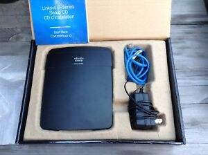 Cisco linksys n300 e1200 wireless router